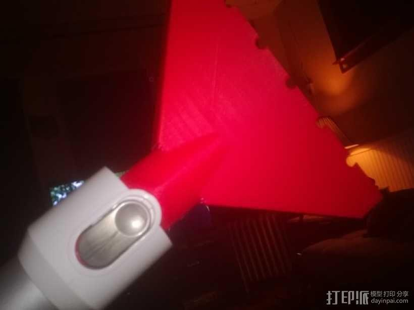 戴森手持式吸尘器吸嘴 3D模型  图1