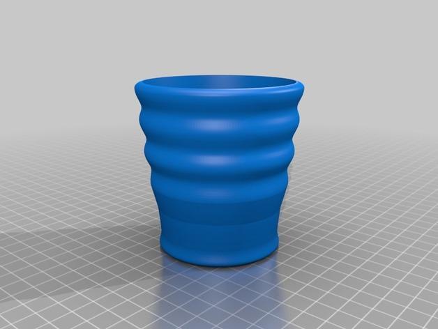 隔热咖啡被套 3D模型  图2