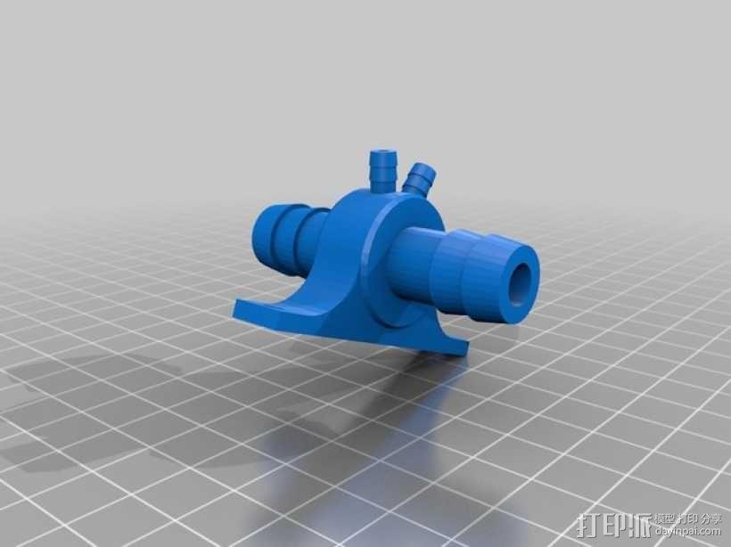 软管分流器 3D模型  图3