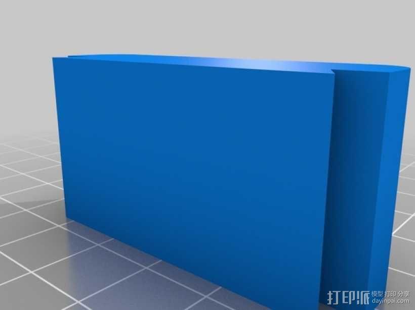 模块化电池盒 3D模型  图3