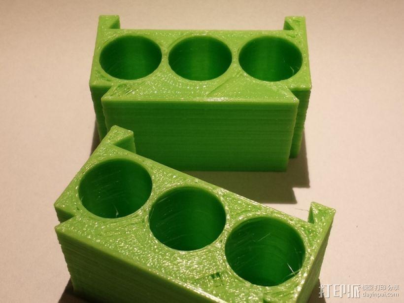AA模块化电池盒 3D模型  图3