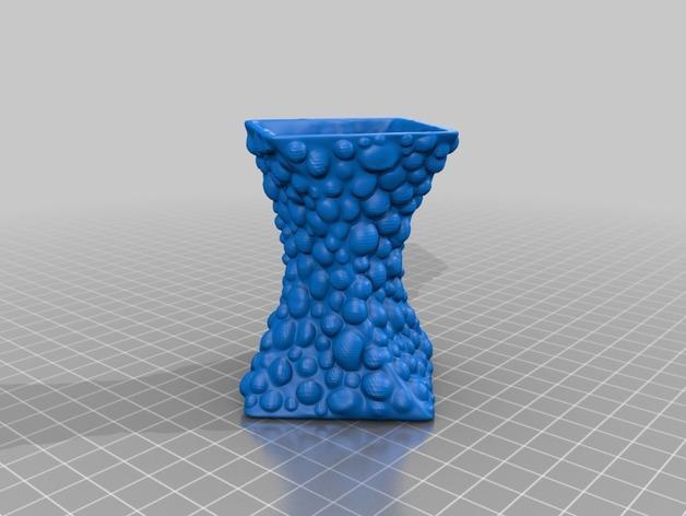 个性化Blobz花瓶 3D模型  图2