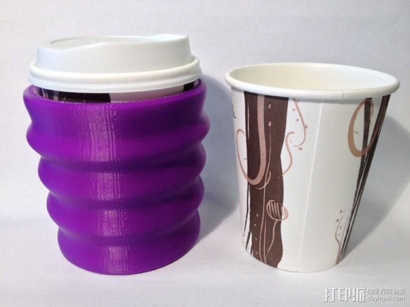 纸杯保护套 3D模型  图1