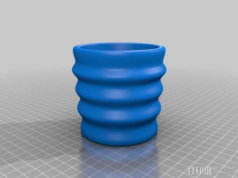 纸杯保护套 3D模型  图2