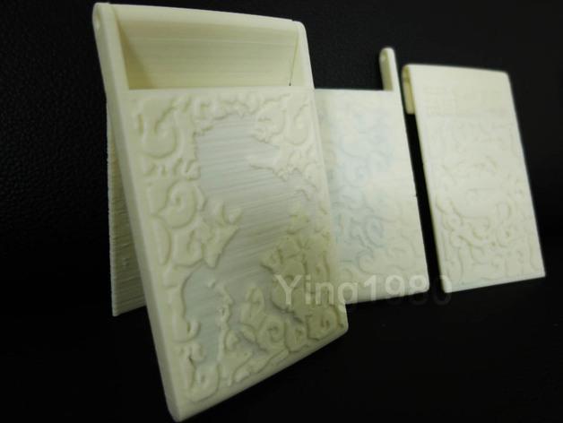 个性化名片盒 3D模型  图5