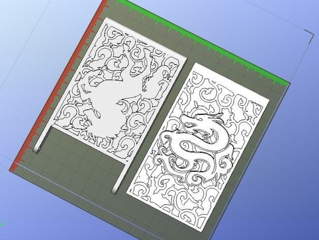 个性化名片盒 3D模型  图7