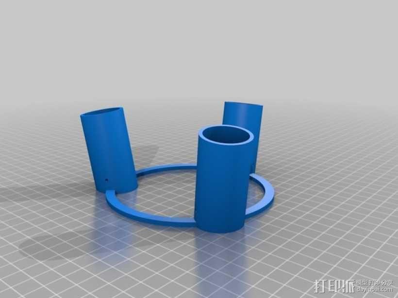 参数化凳子 3D模型  图2