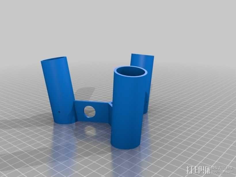 参数化凳子 3D模型  图3