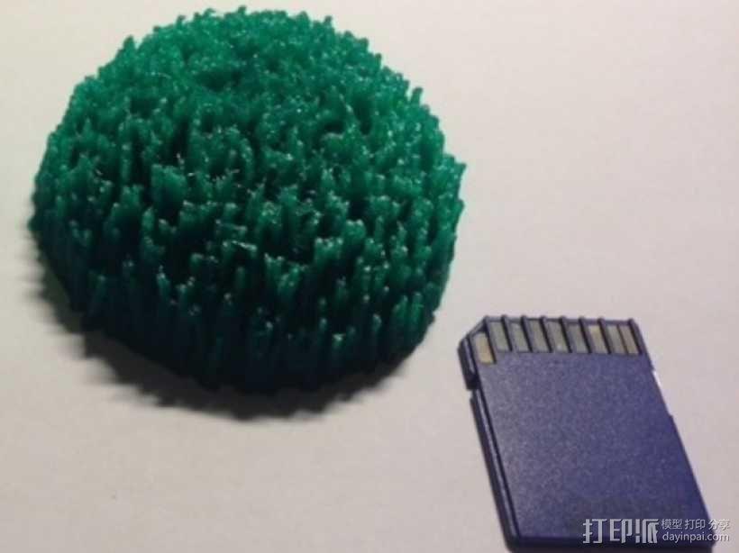 定制化小山丘 3D模型  图1