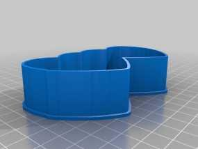 心连心 饼干制作模具 3D模型