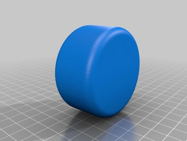 玻璃瓶鸡尾酒调制器 3D模型  图2