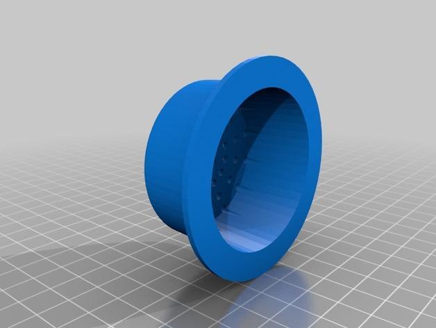 玻璃瓶鸡尾酒调制器 3D模型  图3