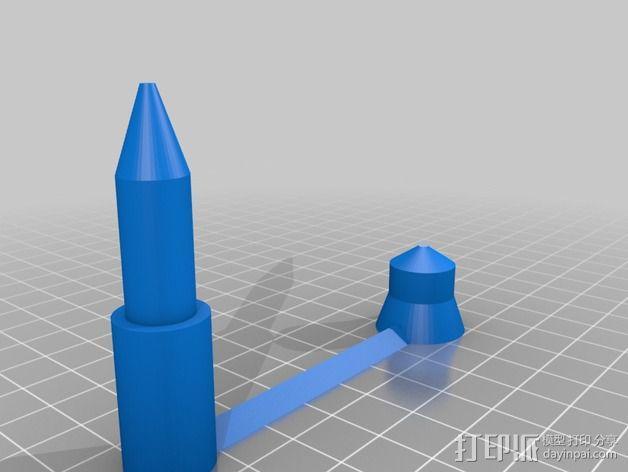 CD/DVD支架 3D模型  图1