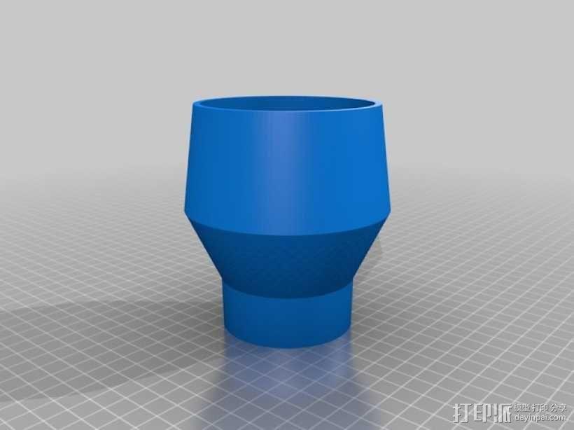 真空吸尘器零部件 3D模型  图2