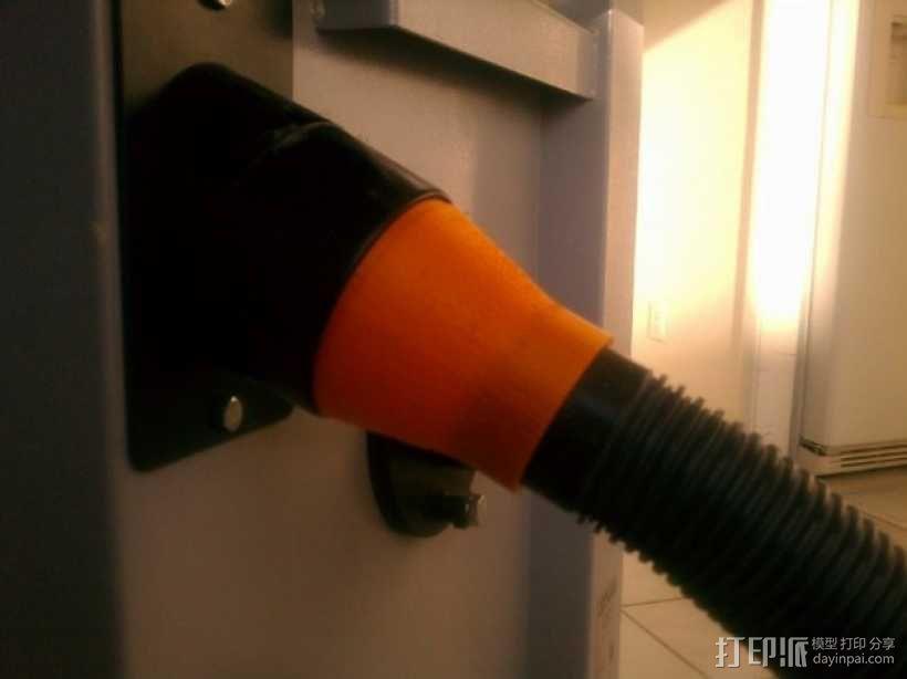 真空吸尘器零部件 3D模型  图1