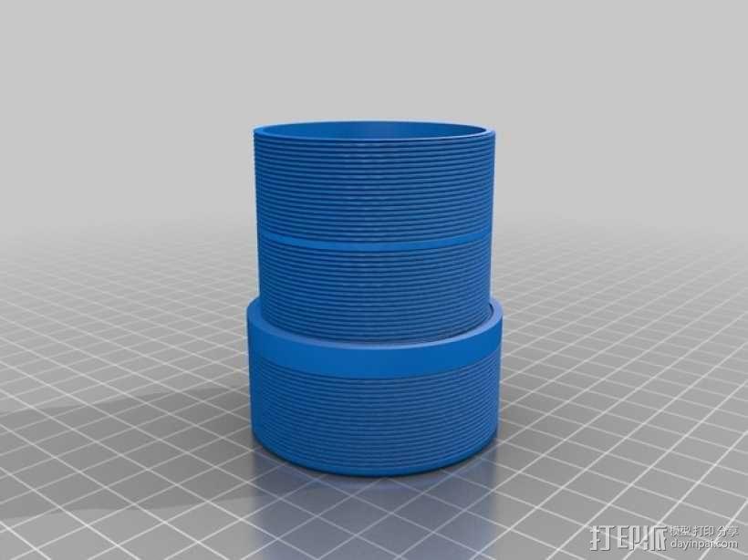 真空吸尘器零部件 3D模型  图4