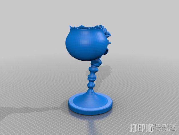 个性化花盆 3D模型  图2