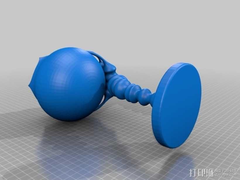 个性化花盆 3D模型  图3