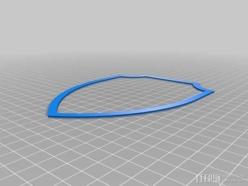 壁挂式鹿头装饰品 3D模型  图7