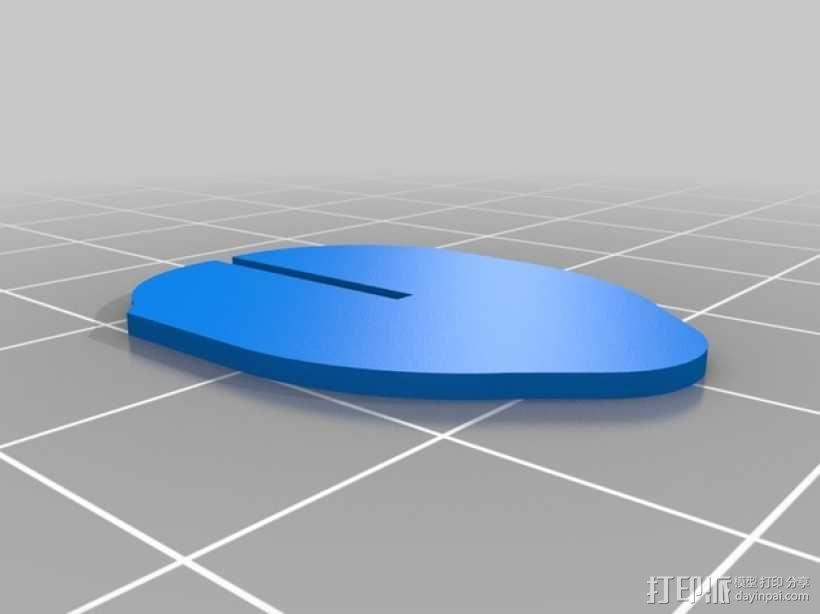 壁挂式鹿头装饰品 3D模型  图12