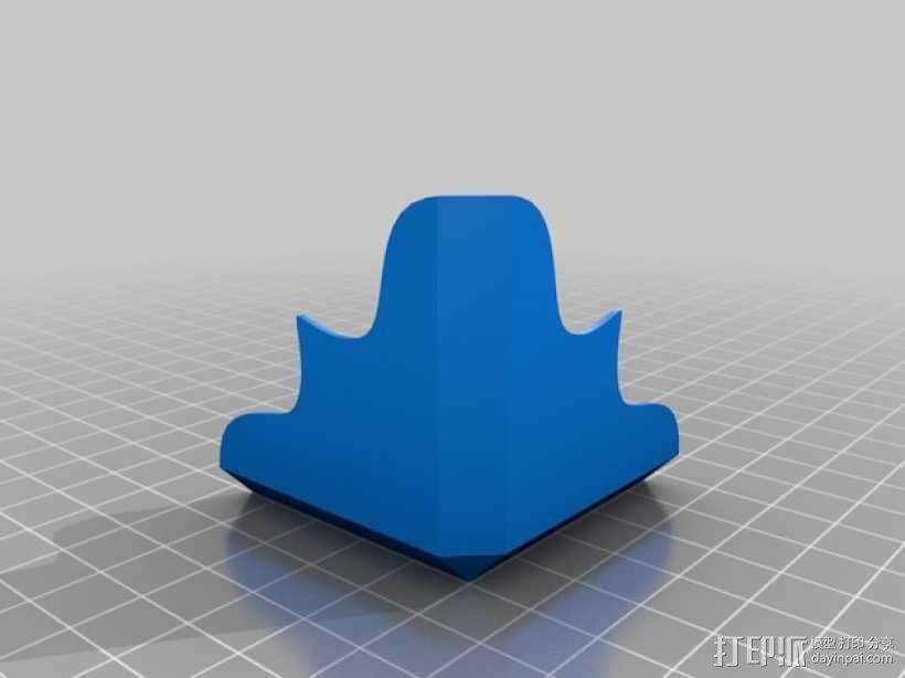 箱子边角保护套 3D模型  图2