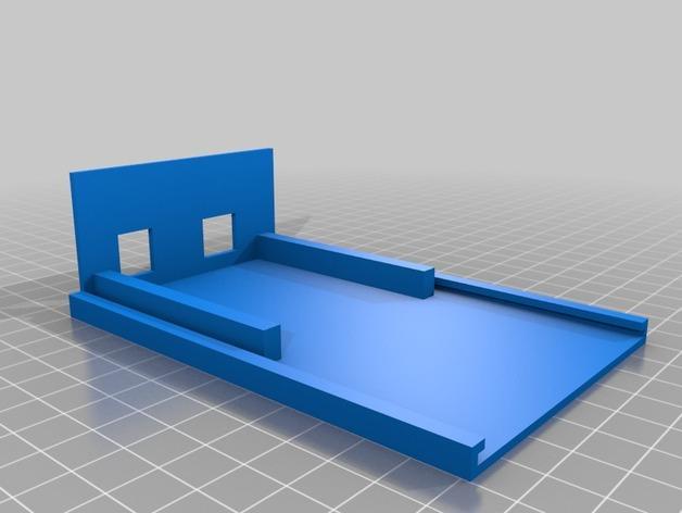 含主板的Kegbot外壳 3D模型  图2