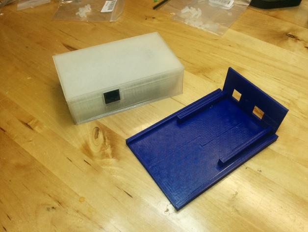 含主板的Kegbot外壳 3D模型  图4