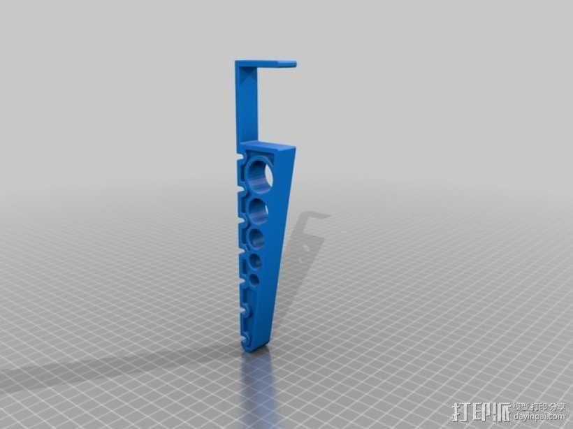 衣帽架 3D模型  图2