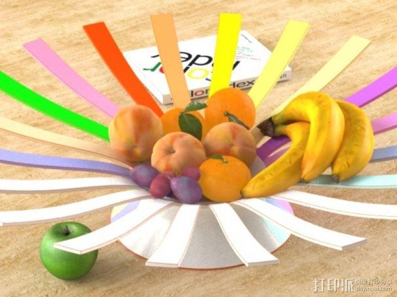 果盘 3D模型  图1