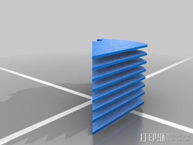 定制化华尔推剪零部件 3D模型  图6
