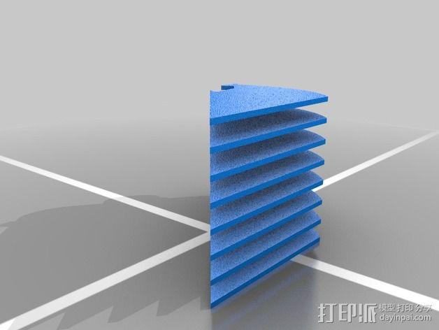 定制化华尔推剪零部件 3D模型  图5