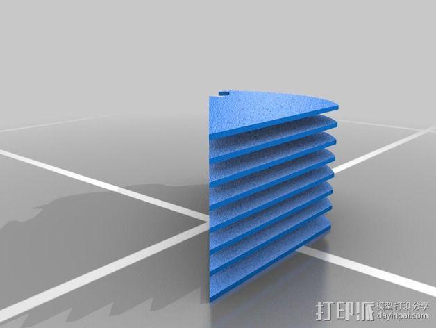 定制化华尔推剪零部件 3D模型  图7