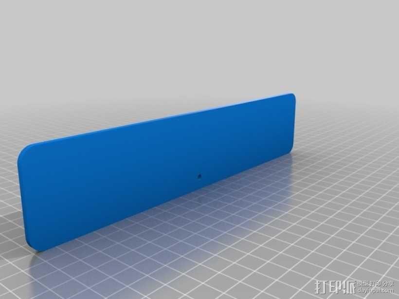 字母方块 3D模型  图2