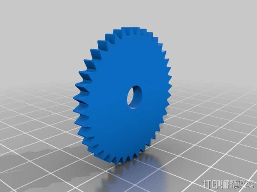 字母方块 3D模型  图4