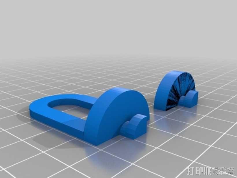 迷你挂钩 3D模型  图2