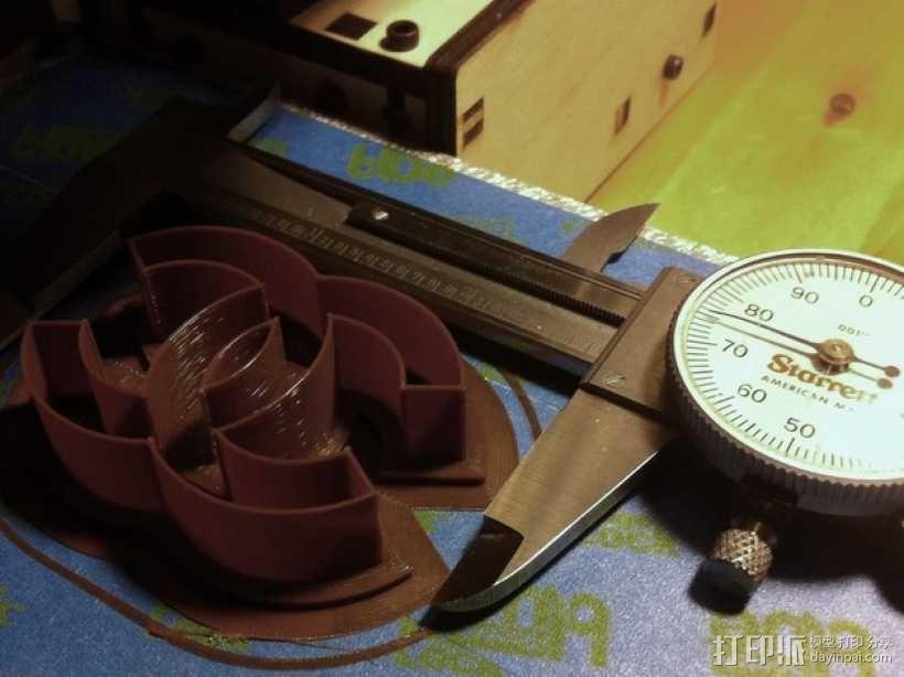 香奈儿 饼干模具 3D模型  图4