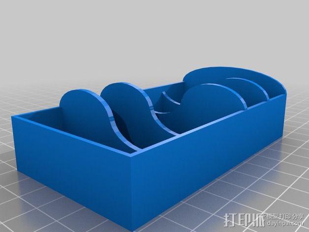 迷你置物架 3D模型  图1