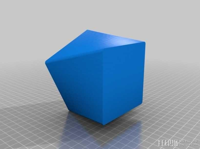 小圆蜡烛灯罩 3D模型  图2