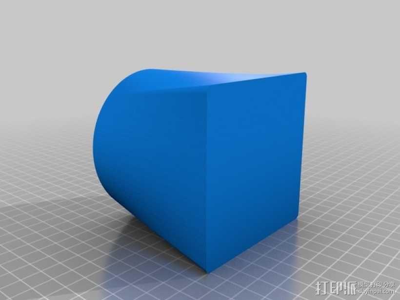 小圆蜡烛灯罩 3D模型  图5