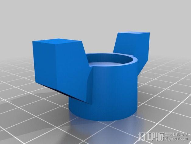 水龙头旋钮 3D模型  图2