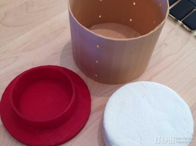 奶酪制作模具 3D模型  图1