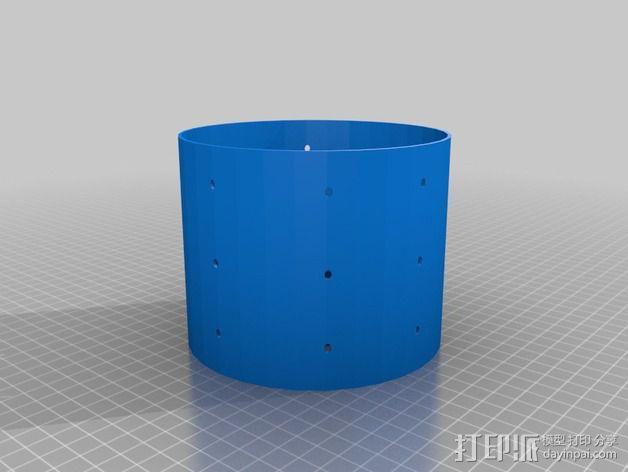 奶酪制作模具 3D模型  图5