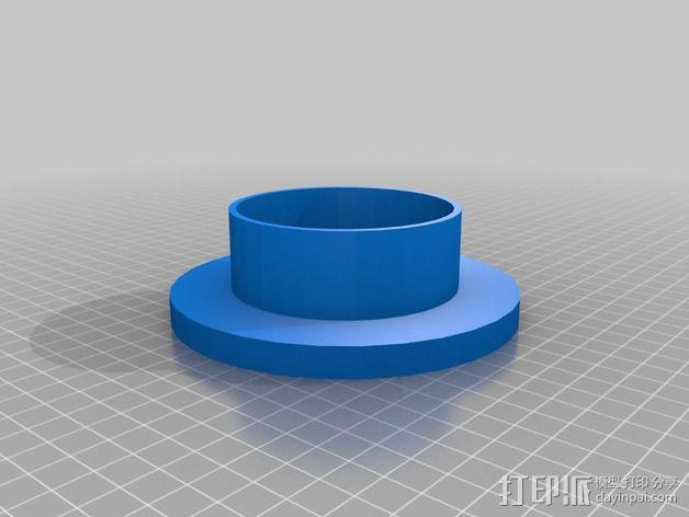 奶酪制作模具 3D模型  图4