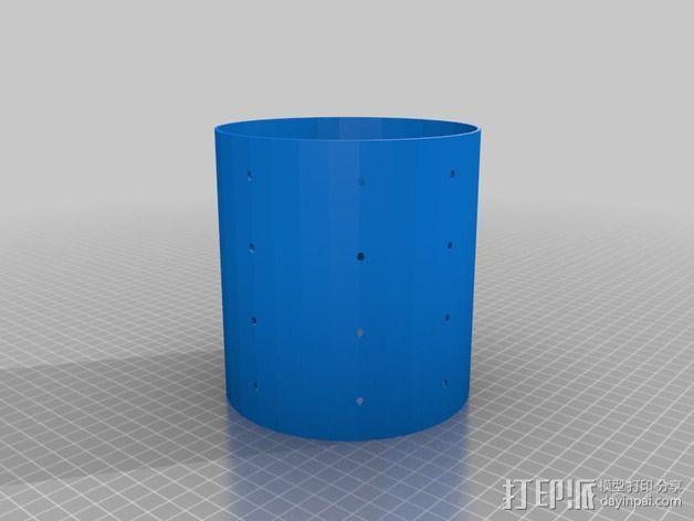 奶酪制作模具 3D模型  图2