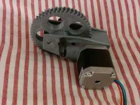 挤出机步进电机自动化测试装置 3D模型