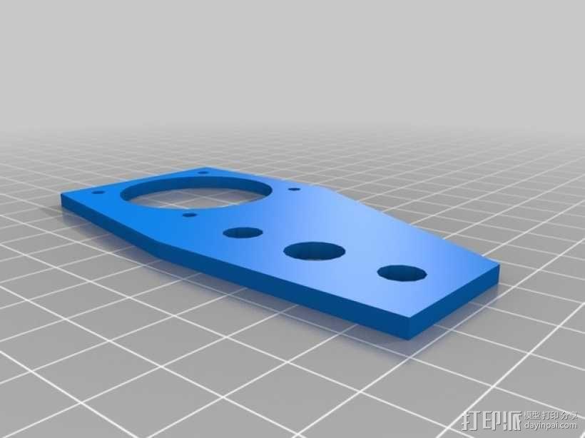 挤出机步进电机自动化测试装置 3D模型  图4