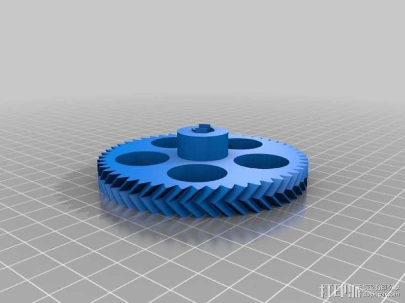 挤出机步进电机自动化测试装置 3D模型  图6