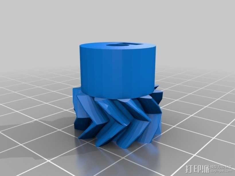 挤出机步进电机自动化测试装置 3D模型  图5