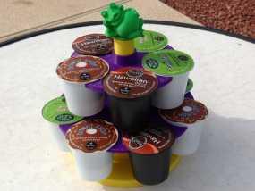 青蛙 咖啡胶囊架 3D模型