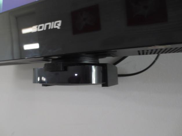 苹果电视支架 3D模型  图1